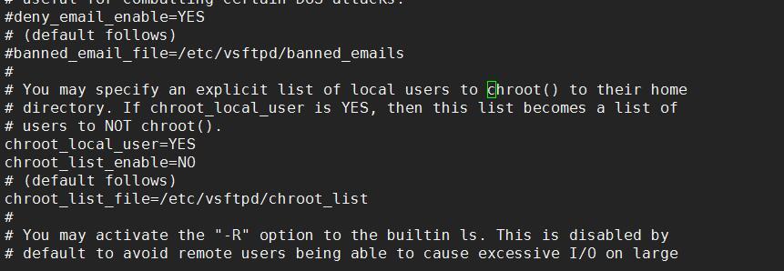 linux下vsftp搭建ftp方法并且限制只能访问自己目录