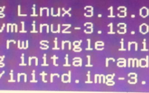 ubuntu进入单用户方法,ubuntu单用户修复磁盘方法