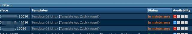zabbix Maintenance维护周期详解以及如何设置主机维护周期(45)