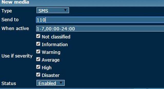 zabbix报警媒介:SMS介绍和如何设置SMS报警(62) idc资讯 第2张
