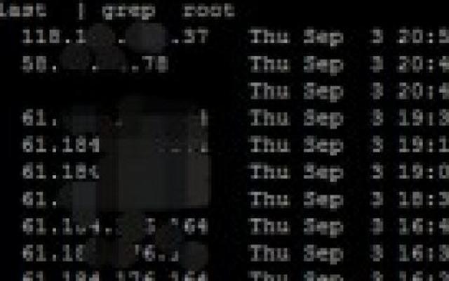 【原创】linux如何查看最近root的用户IP登陆信息