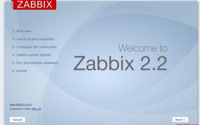 centos环境下zabbix安装图文全过程(6)