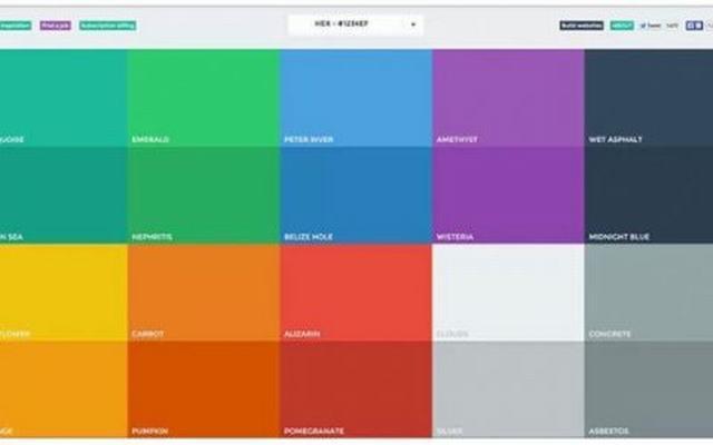 网站建设凸显效果的配色原则