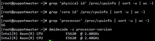 Linux如何查看系统cpu物理个数、核心数、线程数 idc资讯 第2张