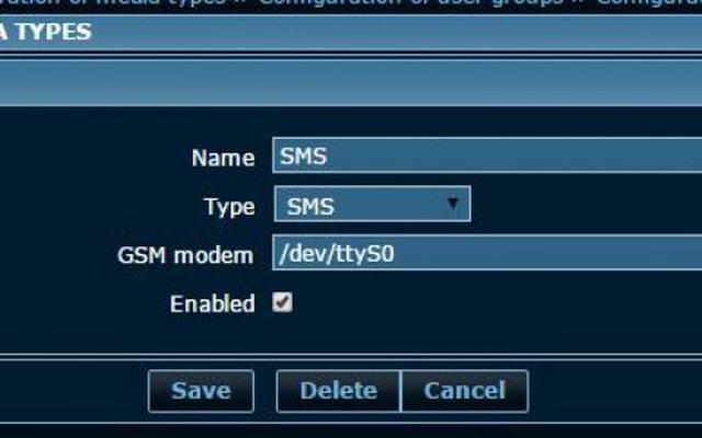 zabbix报警媒介:SMS介绍和如何设置SMS报警(62)