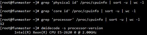 Linux如何查看系统cpu物理个数、核心数、线程数 idc资讯 第1张