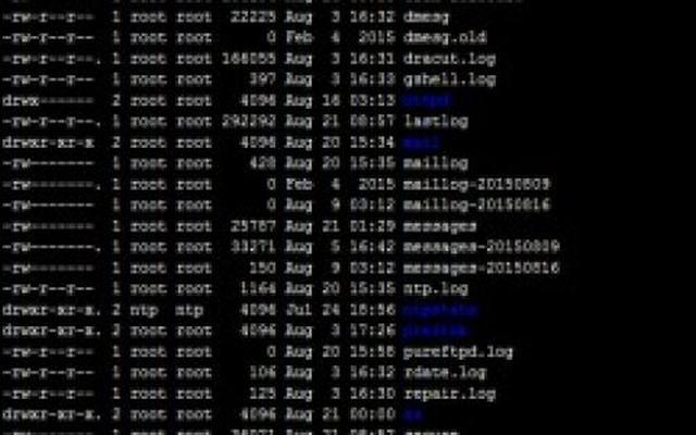 linux 系统/var/log目录下的20个Linux日志文件功能详解