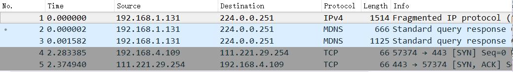 Wireshark初步入门 工具软件 第4张