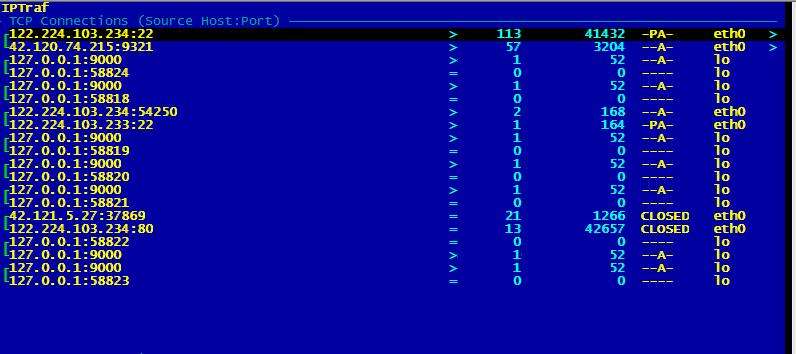 服务器带宽跑满的排查处理(win/linux)