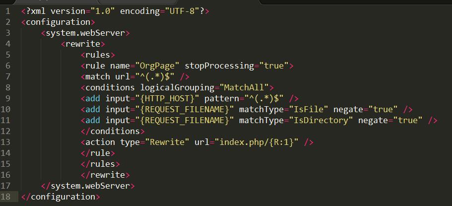 Thinkphp伪静态规则iis7/iis8下载