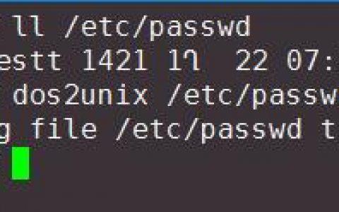通过SFTP连接linux修改passwd文件后无法远程解决方法
