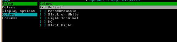通过htop命令查看内存实际使用容量以及htop命令详解 服务器系统 第12张