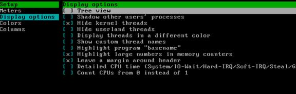 通过htop命令查看内存实际使用容量以及htop命令详解 服务器系统 第11张