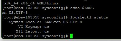 CentOS8中文乱码问题